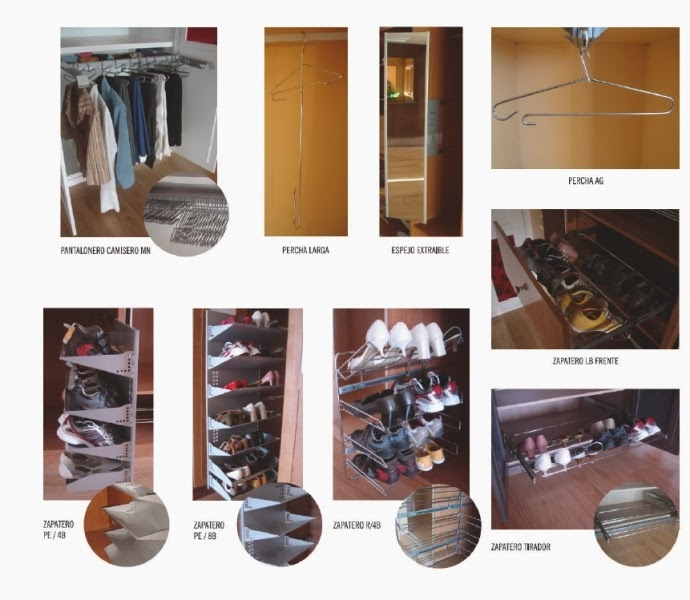 Serranos studio distribuir el interior de tu armario - Zapateros interior armario ...
