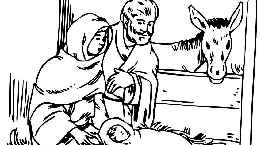 El Nacimiento De Jesus Para Dibujar. Una Muy Bonita Recopilacin ...