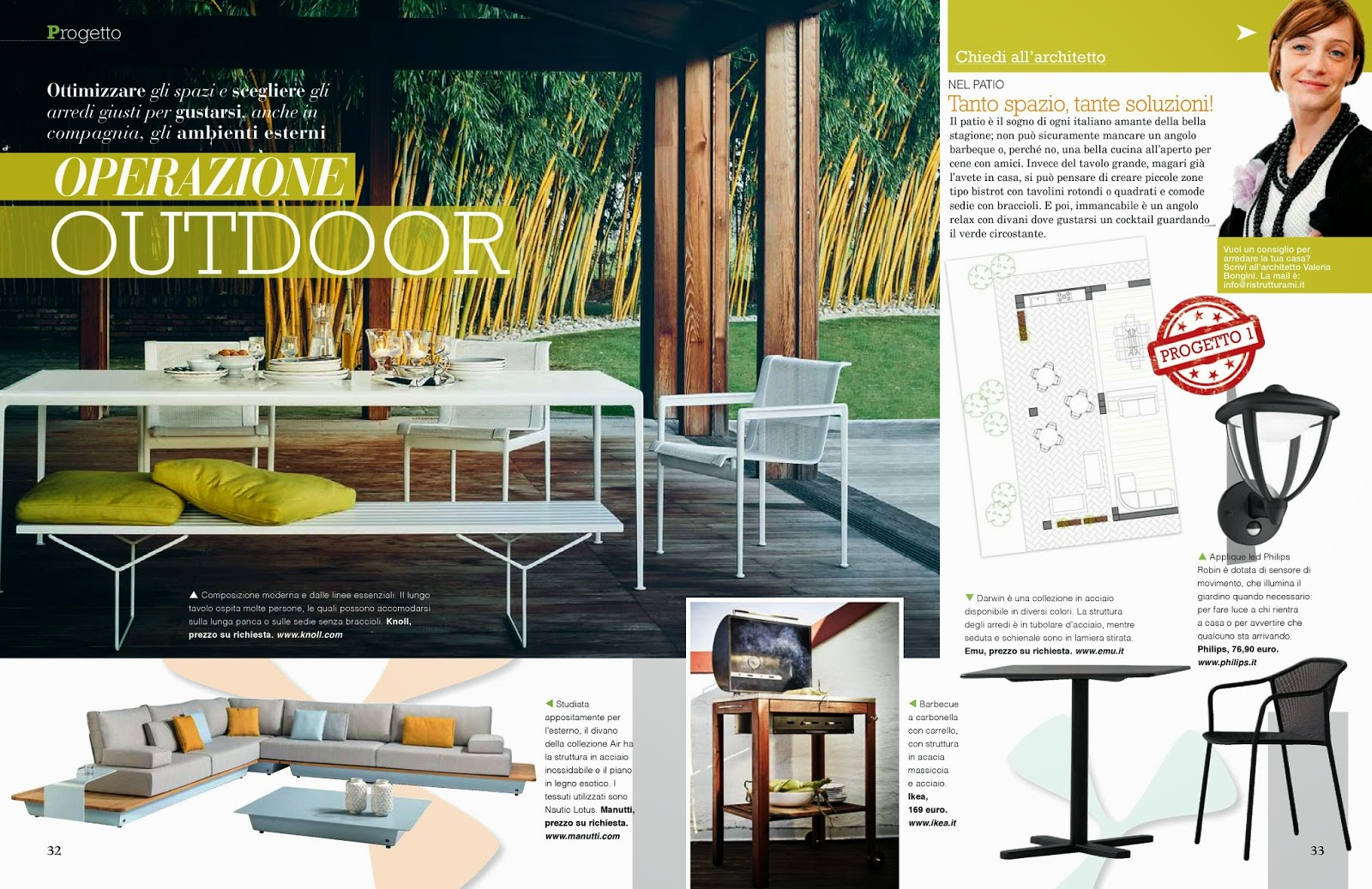 Interior Relooking: Idee per arredare il giardino e il balcone