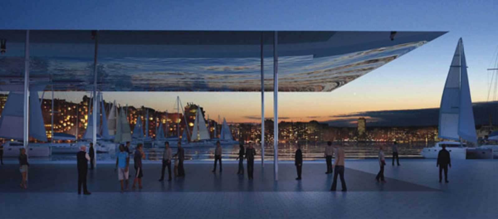 Architecture now and the future marseille vieux port by foster partners - Tangram architectes marseille ...