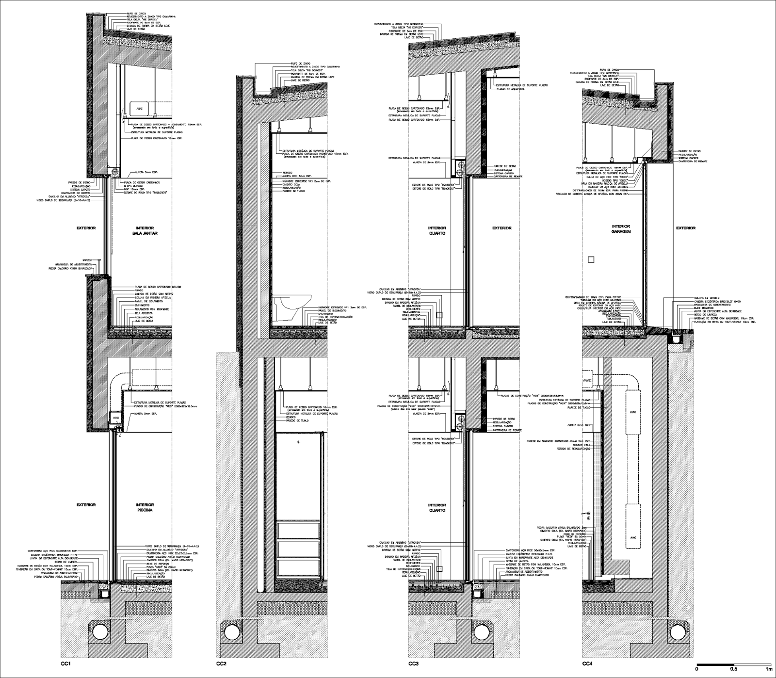 Detalle de arranque de pilar metalico sobre muro de hormigon armado  #333333 1600x1398 Banheiro Coletivo Acessivel