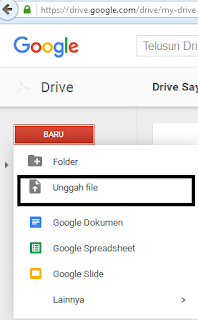 Cara Upload dan Seting di Google Drive