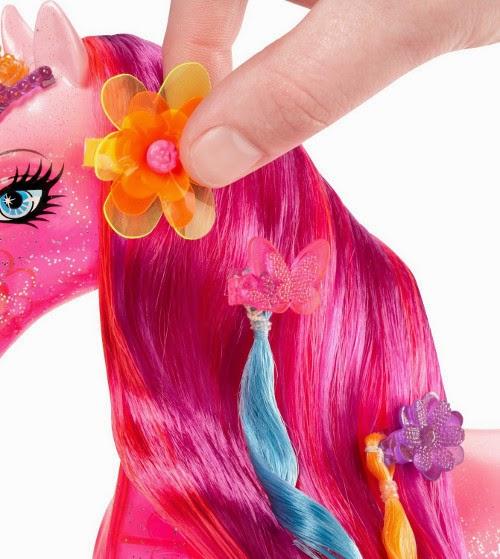 TOYS : JUGUETES - Barbie y La Puerta Secreta - Unicornio  BARBIE and the Secret Door Unicorn  Producto Oficial 2014 | Mattel BLP40 | A partir de 3 años