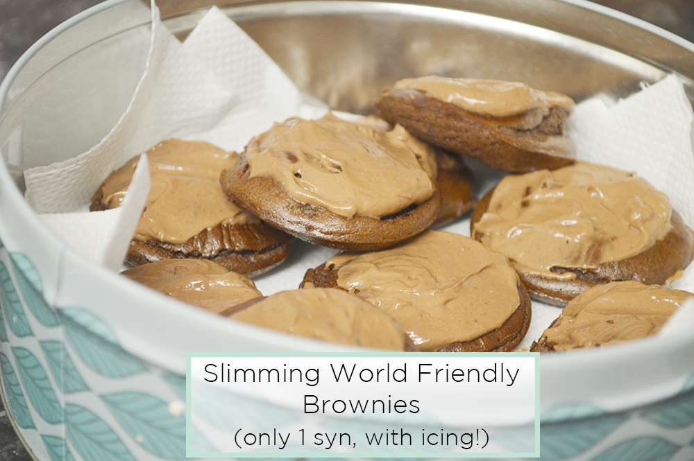 Slimming world 1 syn chocolate brownies with icing more about cat New slimming world plan