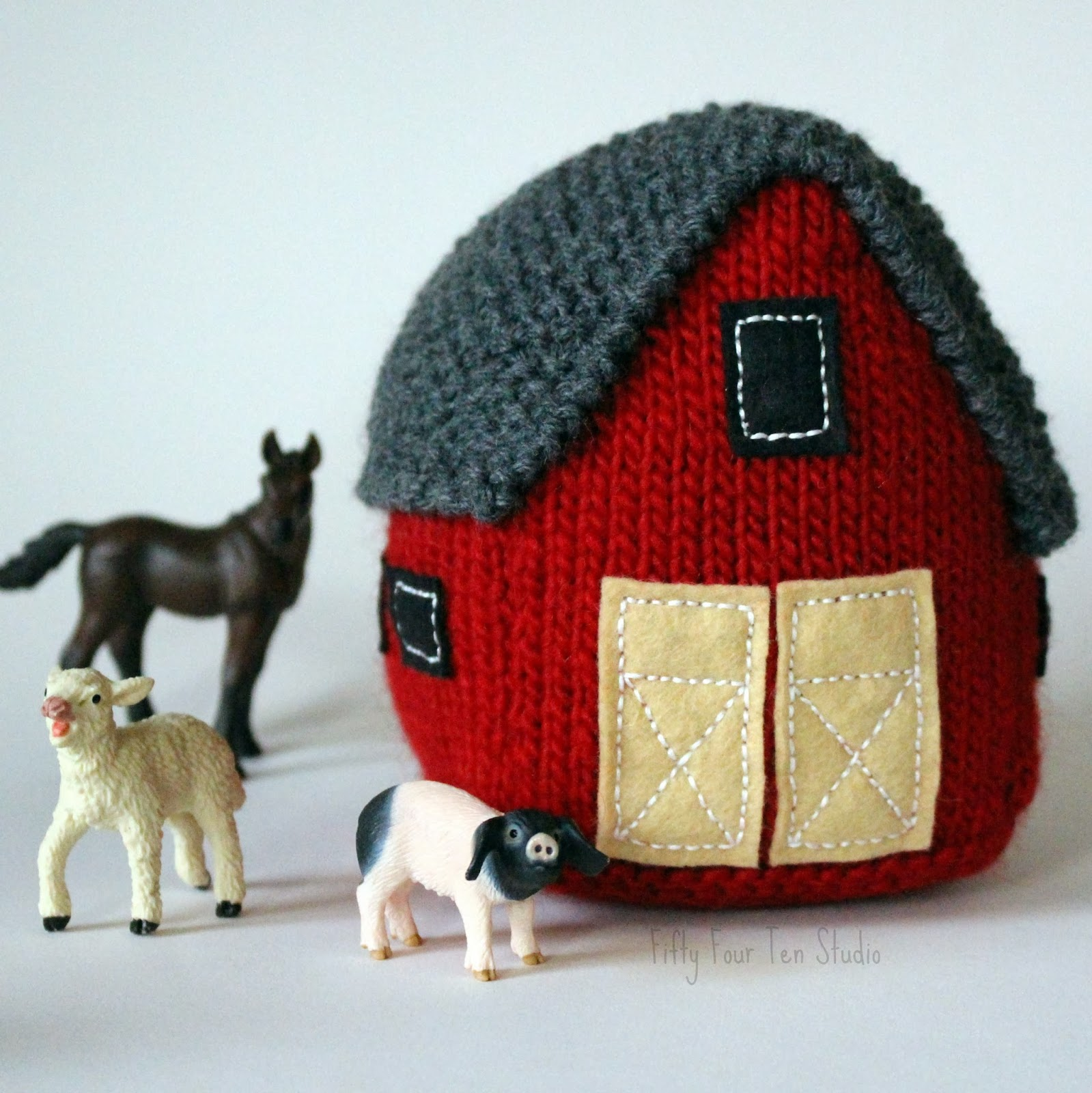 Fifty four ten studio new knitting pattern the big red barn new knitting pattern the big red barn bankloansurffo Image collections