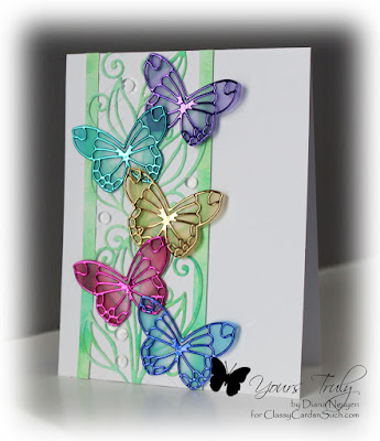 Diana Nguyen, Impression Obsesssion, Poppystamps, butterfly
