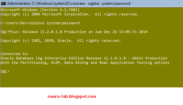 Bagaimana Cara Membuat User di Oracle Database
