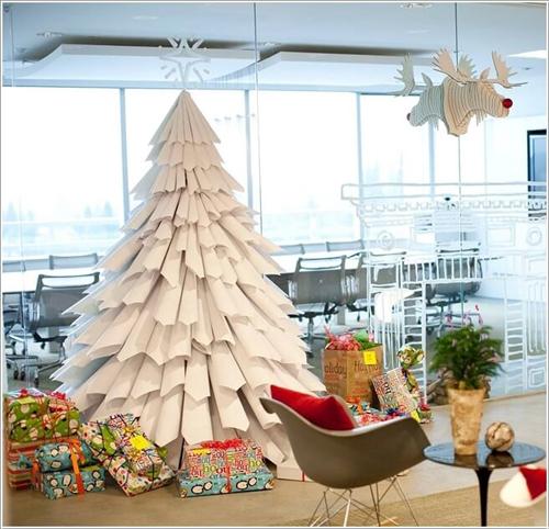 tự làm cây thông Giáng Sinh