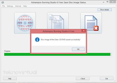 Cara Membuat File ISO Dari Data Folder 7