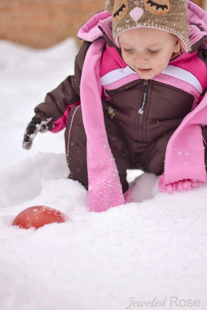 Hunting for Snow Jewels - SO FUN!