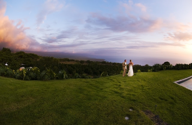 Hawaii Big Island Wedding