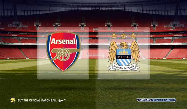 Keputusan Arsenal vs Manchester City 13 Januari 2013