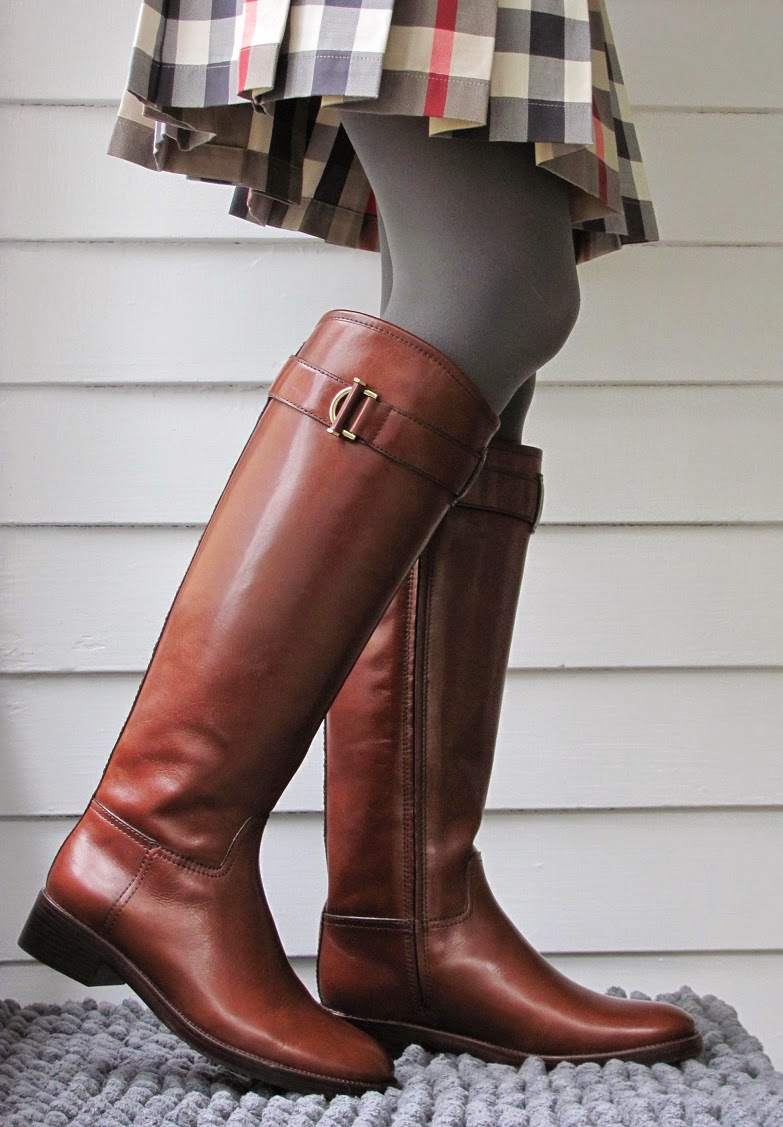Howdy Slim! Riding Boots for Thin Calves: Tory Burch Grace