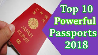 2018 world's most powerful passports revealed [ See full list]