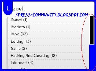 Cara Membuat Scrollbar Keren Di Blog
