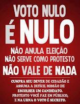EXERÇA A SUA CIDADANIA E O SEU DIREITO/DEVER DEMOCRÁTICO SEMPRE!