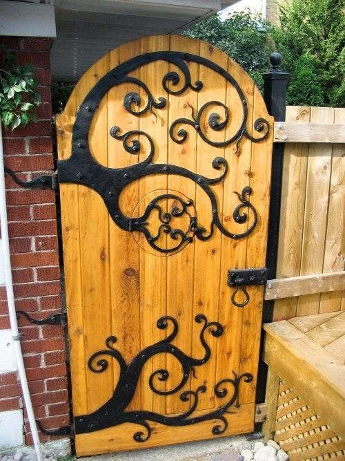 Club Tropicana Garden gate door Check out the hobbit