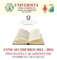 Università della LIberetà: Programma