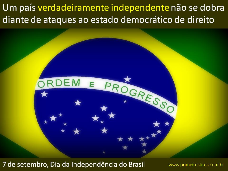 Quem tem o Brasil no coração!