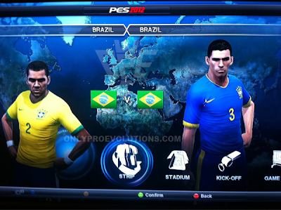 PES 2012 Daymos Brazil new kits