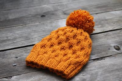 https://www.etsy.com/listing/164976251/knit-hat-pattern-honeycomb-hat-winter
