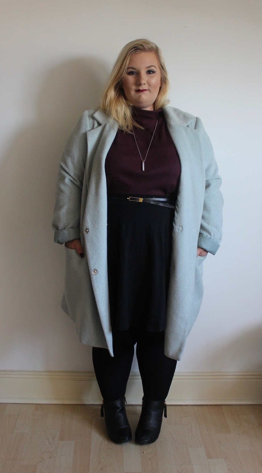 Plus Size Turtleneck OOTD
