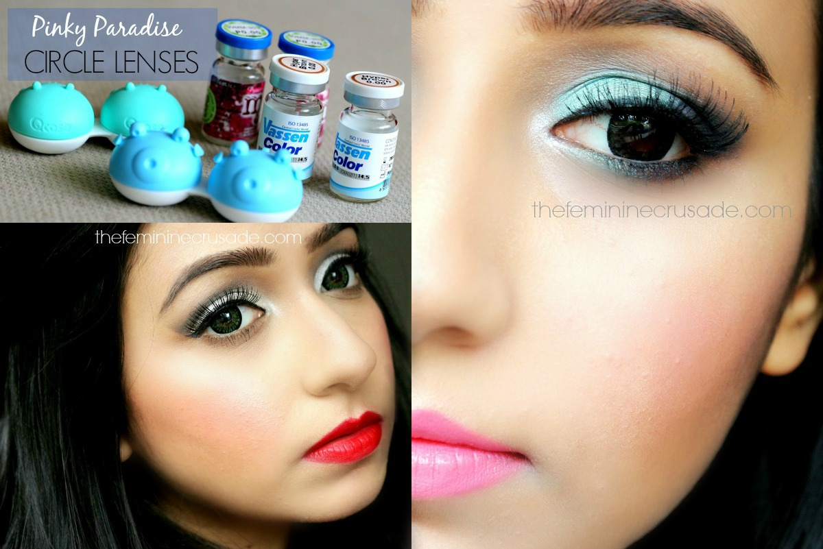 Pinky Paradise Circle Lenses