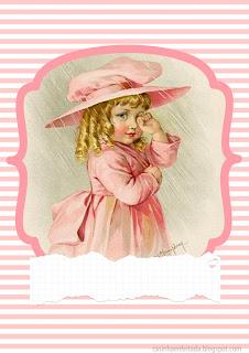 capas de caderno personalizadas meninas maud humphrey para imprimir gratis