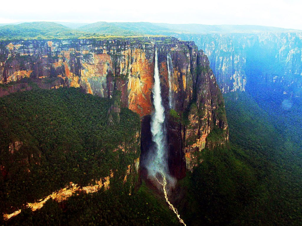 Getstunned angel falls world highest waterfall for Waterfall it
