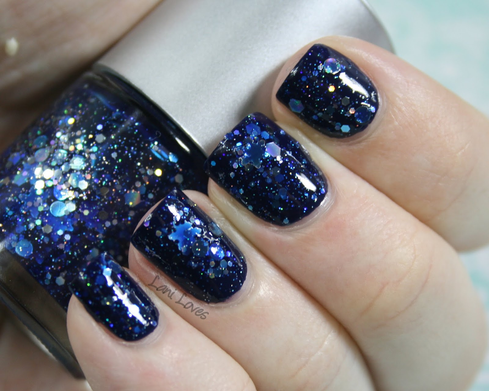 NZ Indie Polish Month Star Kin - Glitter Wonderland Nail Polish Swatches U0026 Review - Lani Loves