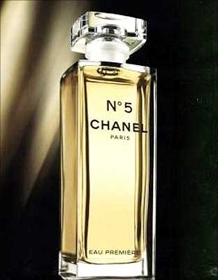 chanel 5 perfume in