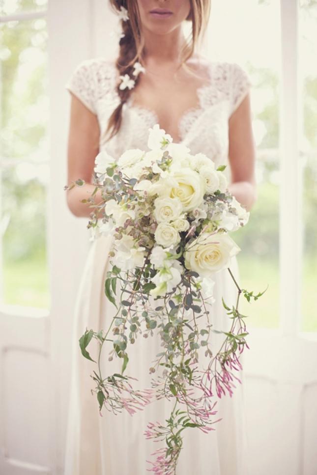 Vintage bouquet wedding