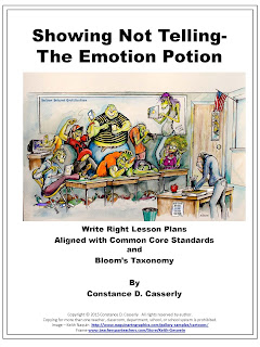 WRITING-SHOWING NOT TELLING-THE EMOTION POTION