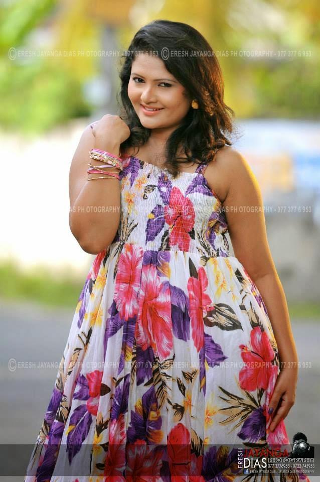 Ameesha Kavindi frock