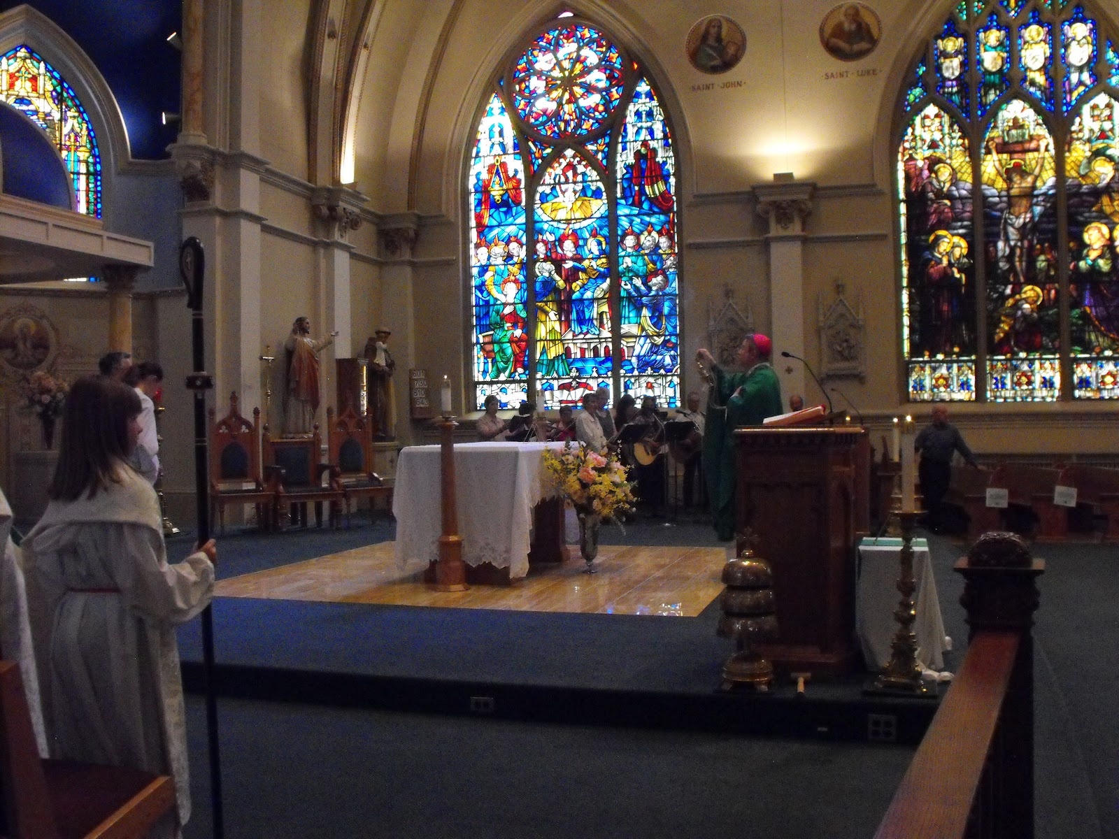 the cathedral of saint francis de sales Thank you for joining us for worship welcome to our parish's online presence here we offer selected mass and prayer services live on the internet.
