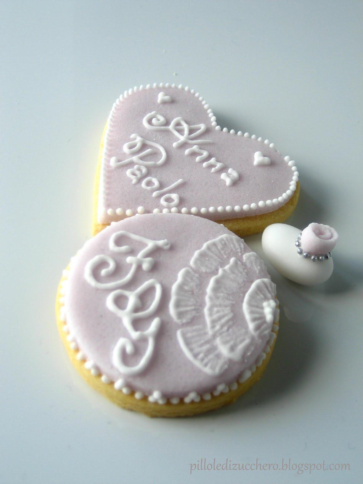 Favorito biscotti segnaposto matrimonio | pillole di zucchero NU23