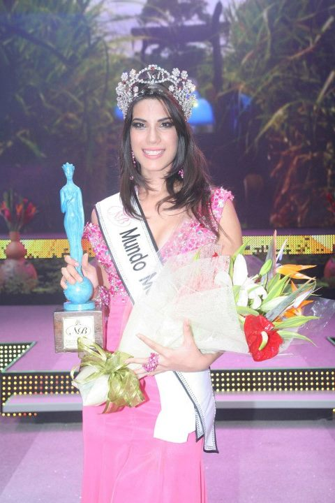Miss Mundo World Mexico 2013 winner Maria Elena Chagoya Triana