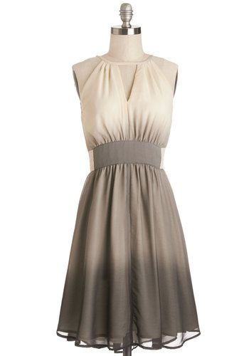 Gorgeous Gradient Sleeveless Frock