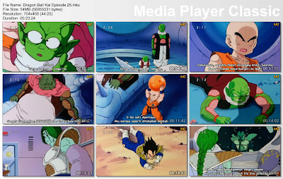"Download Film / Anime Dragon Ball Kai Episode 25 ""Kekuatan Kuririn Meningkat! Perintah dari Freeza"" Bahasa Indonesia"