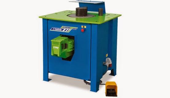 Máy uốn cắt thép bốn trong một Combi