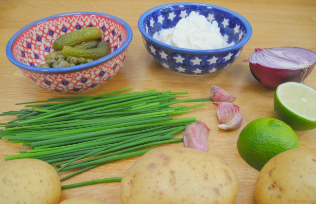 Yoghurt & Citrus Potato Salad