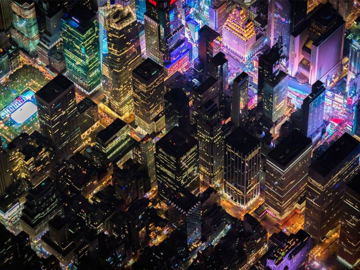 Incredible Aerial Photographs Of New York City Taken At An Astounding Height, photography, photography news