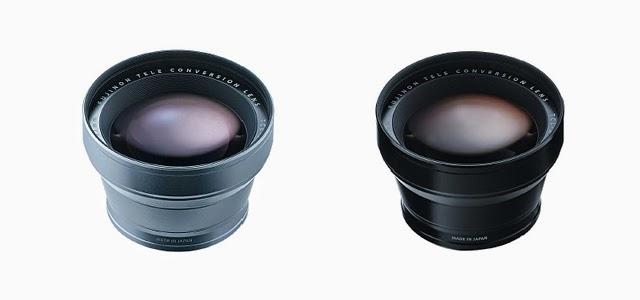 Fotografia del Fujifilm TCL-X100 nei colori argento e nero
