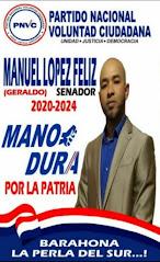 Manuel Lopez, tu Senador 2020-2024