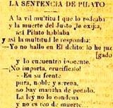 LA SENTENCIA DE PILATOS, SUPRIMIENDO A DIOS EN LA SOCIEDAD (1896)