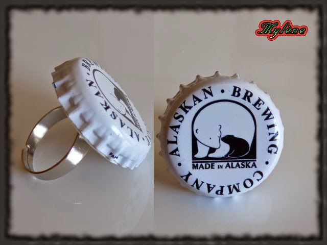 Baño One Piece Trebol:Bague 'Made in Alaska' / Anillo 'Made in Alaska'