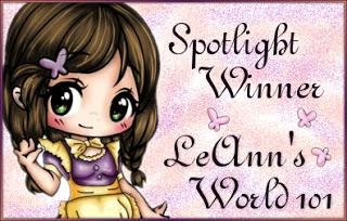 4 mei 2021 spotlightwinner bij LeAnn'sworld101