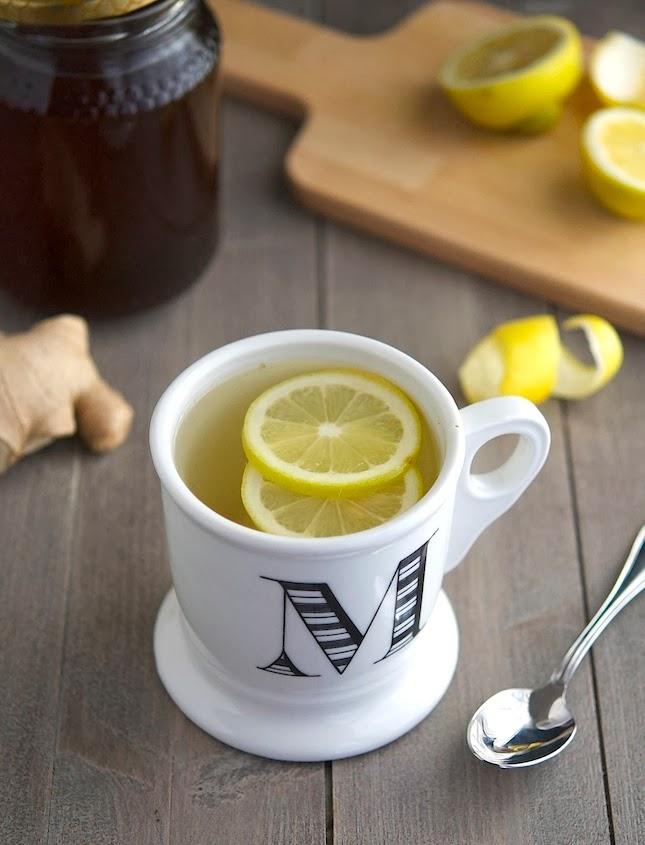Honey, Lemon & Ginger Tea