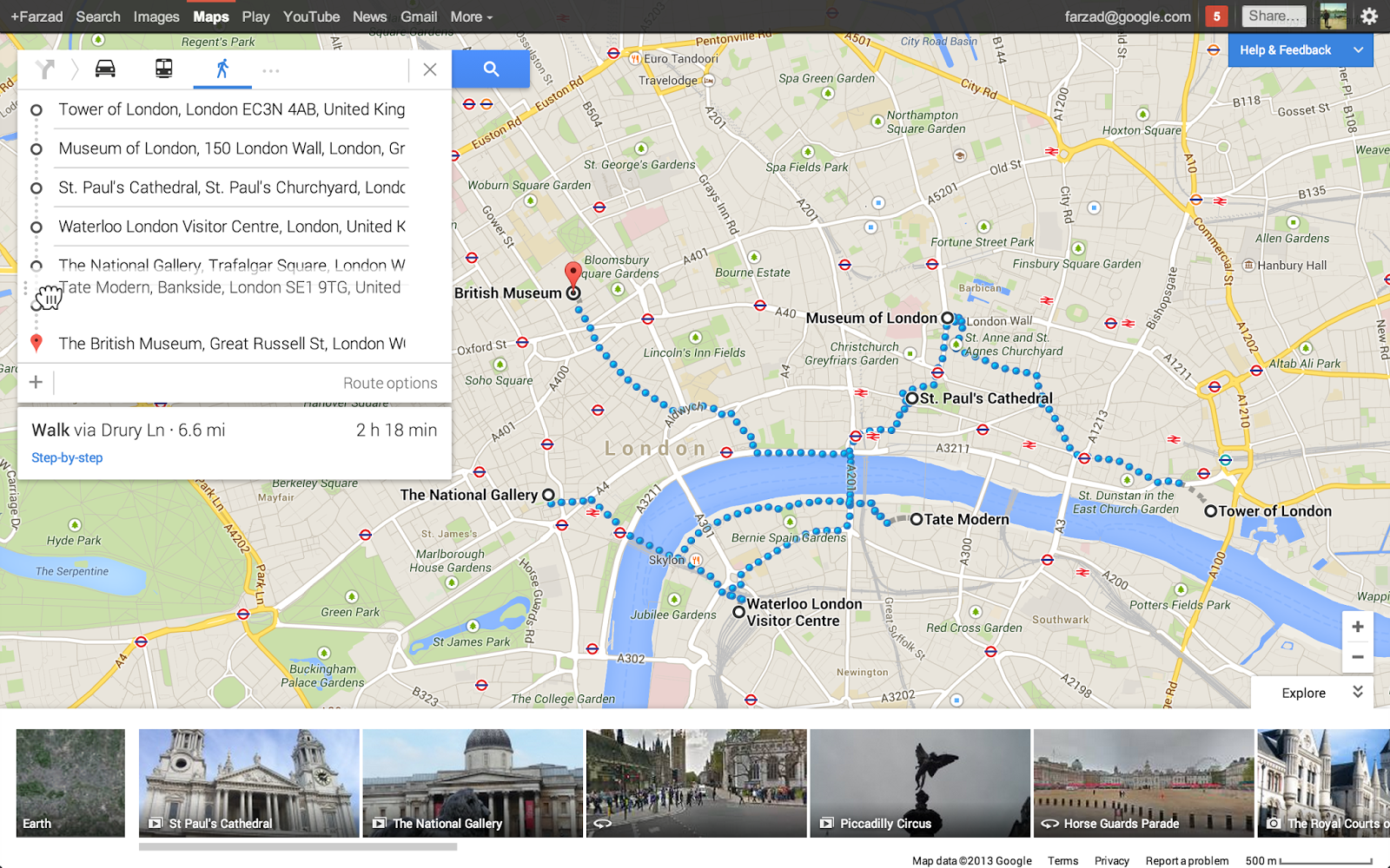 Directions you can click on the preview image to the right to - Google Lat Long Hit The Road With The New Google Maps Preview
