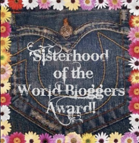 Sisterhood of the World Blogger Award